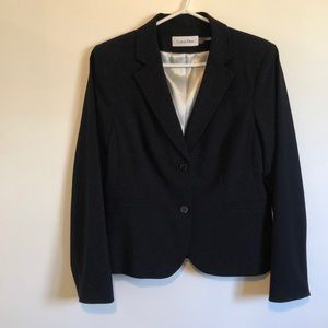 Calvin Klein Button Up Black Blazer